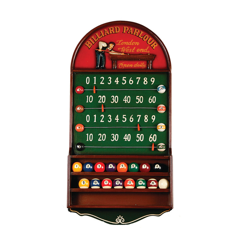 BILLIARD PARLOUR SCOREBOARD/BALL HOLDER