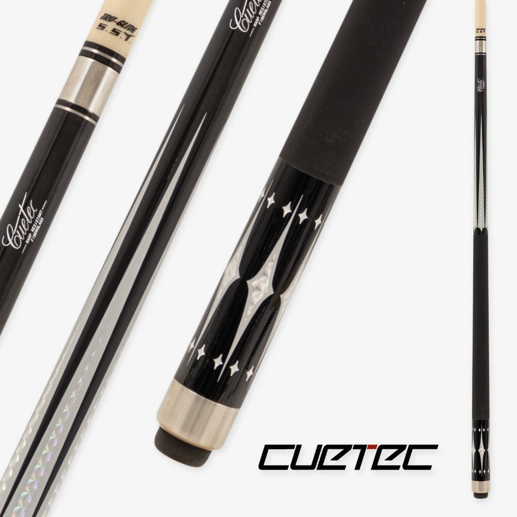 CUETEC PROFESSIONAL SERIES - STARLIGHT BLACK AND SILVER