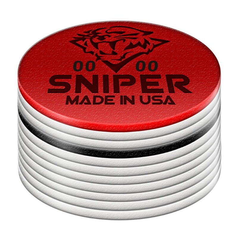 TIGER SNIPER LAMINATED CUE TIP - MEDIUM/SOFT