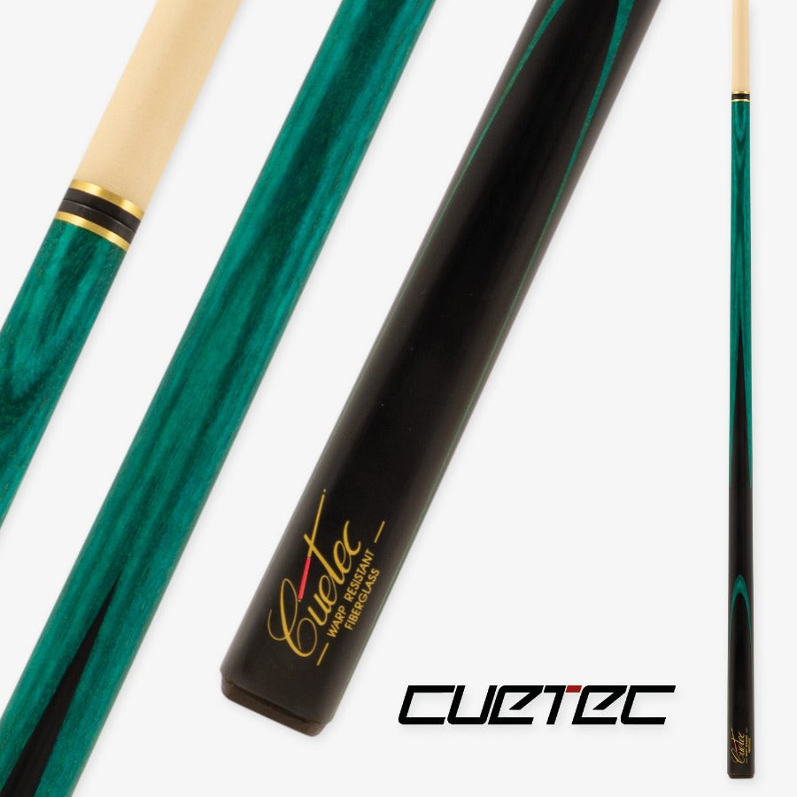 CUETEC CLASSIC PRO SNOOKER - TEAL STAINED