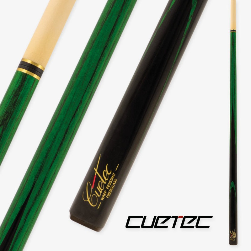 CUETEC CLASSIC PRO SNOOKER - GREEN STAINED