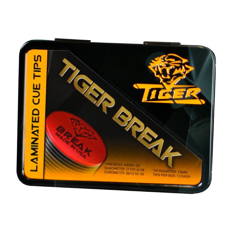 TIGER BREAK LAMINATED CUE TIP - SUPER HARD