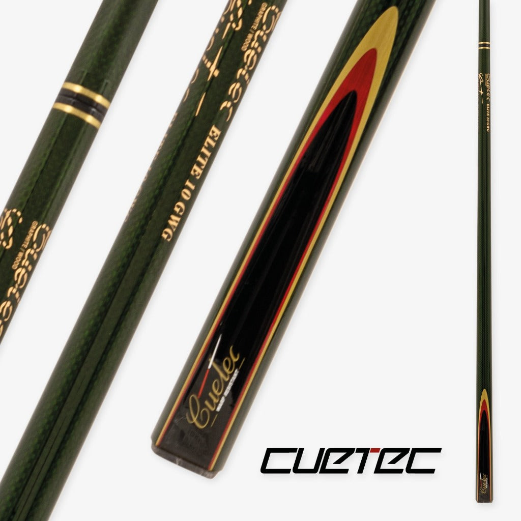 CUETEC PROFESSIONAL SNOOKER - GREEN GRAPHITE