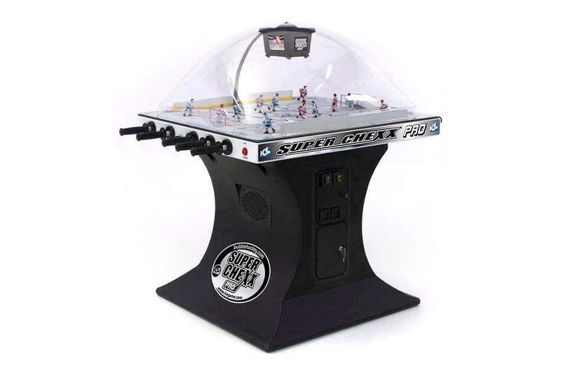 SUPER CHEXX PRO HOCKEY DOME COIN-OP BLACK