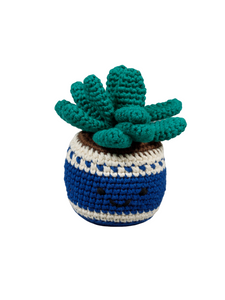 Little Cactus Organic Crochet Squeaky Toy