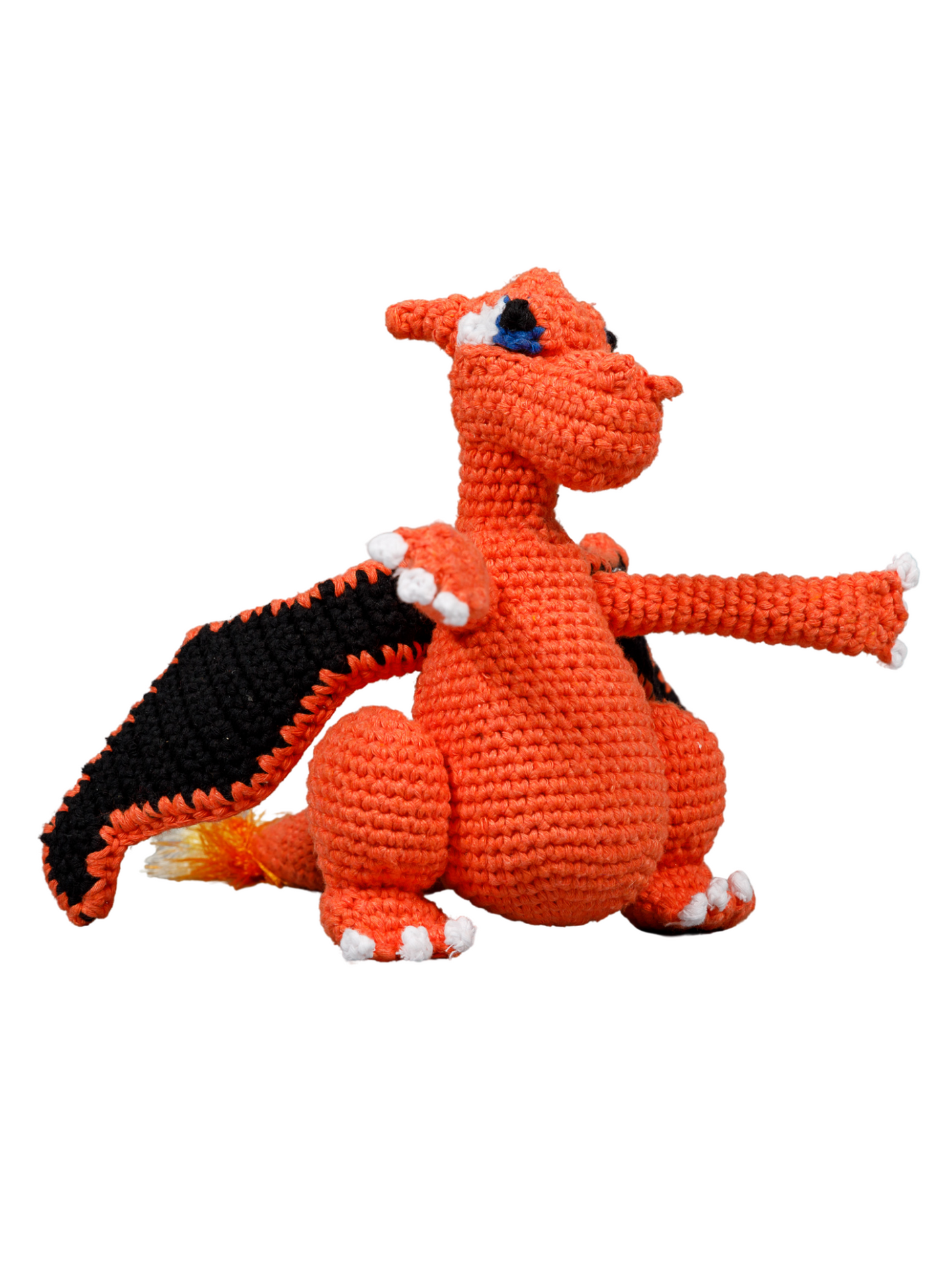 Dragon Organic Crochet Squeaky Toy