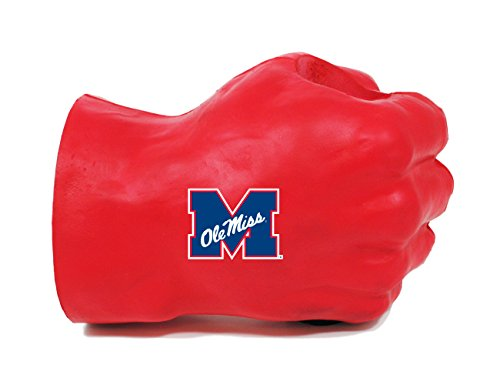 NCAA Mississippi Old Miss Rebels Fan Fist Beverage Holders, Adult, Team Color