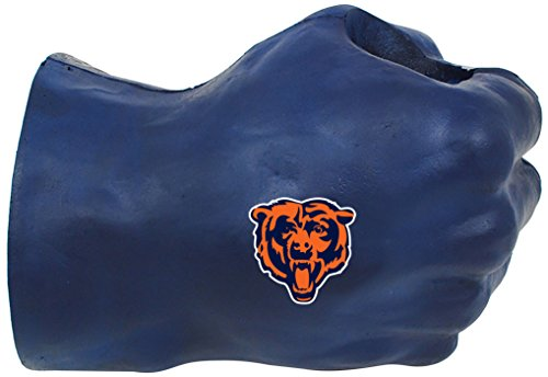 NFL Chicago Bears Fan Fist TM Beverage Holders, Adult, Midnight Blue