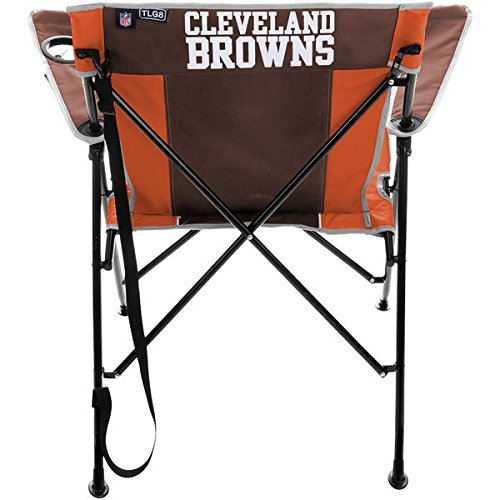 Fine Cleveland Browns Nfl Tailgating Folding Chair Lamtechconsult Wood Chair Design Ideas Lamtechconsultcom