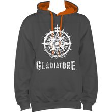 Load image into Gallery viewer, DARK CONTRASTING HOODIES GLADIATORE UNISEX