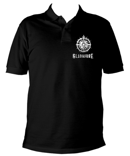 DARK COMPASS MENS POLO GLADIATORE T SHIRT