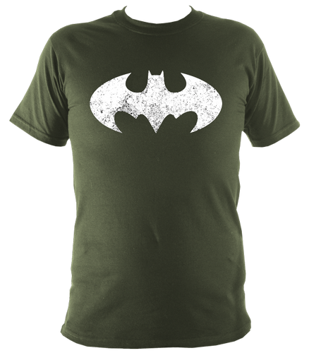 BAT MAN MARVEL MENS SHIRT GLADIATORE