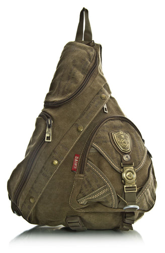 CROSS BODY GYM TRAVEL BACKPACK RUCKSACK MONOSTRAP