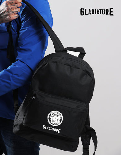 Black All-round Spartan Backpack Gym Travel