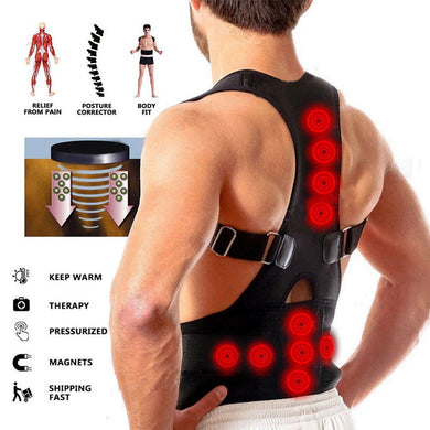Magnetic Posture Back Shoulder Support Brace Unisex