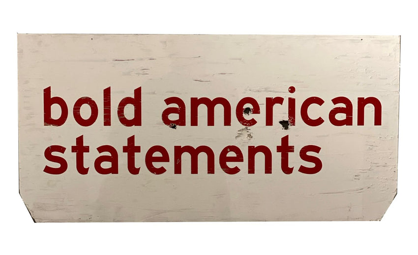 "SKYLAR WILLIAMS ""Bold American Statements"""