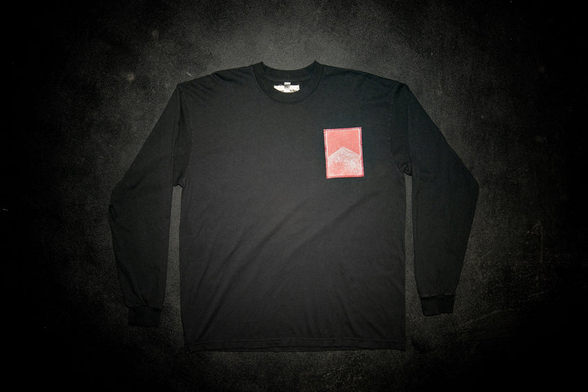 Long Sleeve Black Marlboro Sweatshirt - Frances Wilks