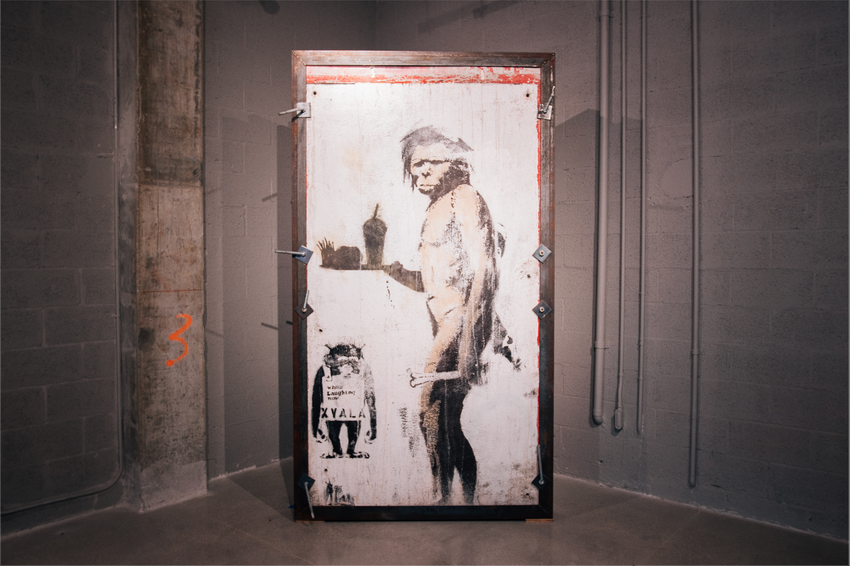 "BANKSY ""THE CAVEMAN"""