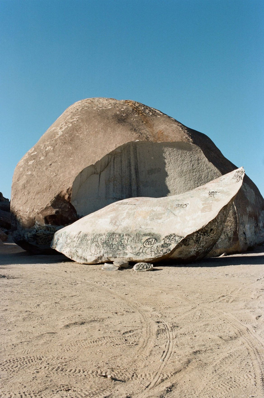 "AMI SIOUX ""Giant Rock, Landers, California""-Ami Sioux-TheArsenale"