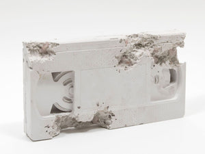 DANIEL ARSHAM Rose Quartz Eroded VHS-Daniel Arsham-TheArsenale
