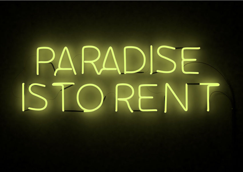 "FRANK PERRIN ""PARADISE IS TO RENT""-Frank Perrin-TheArsenale"