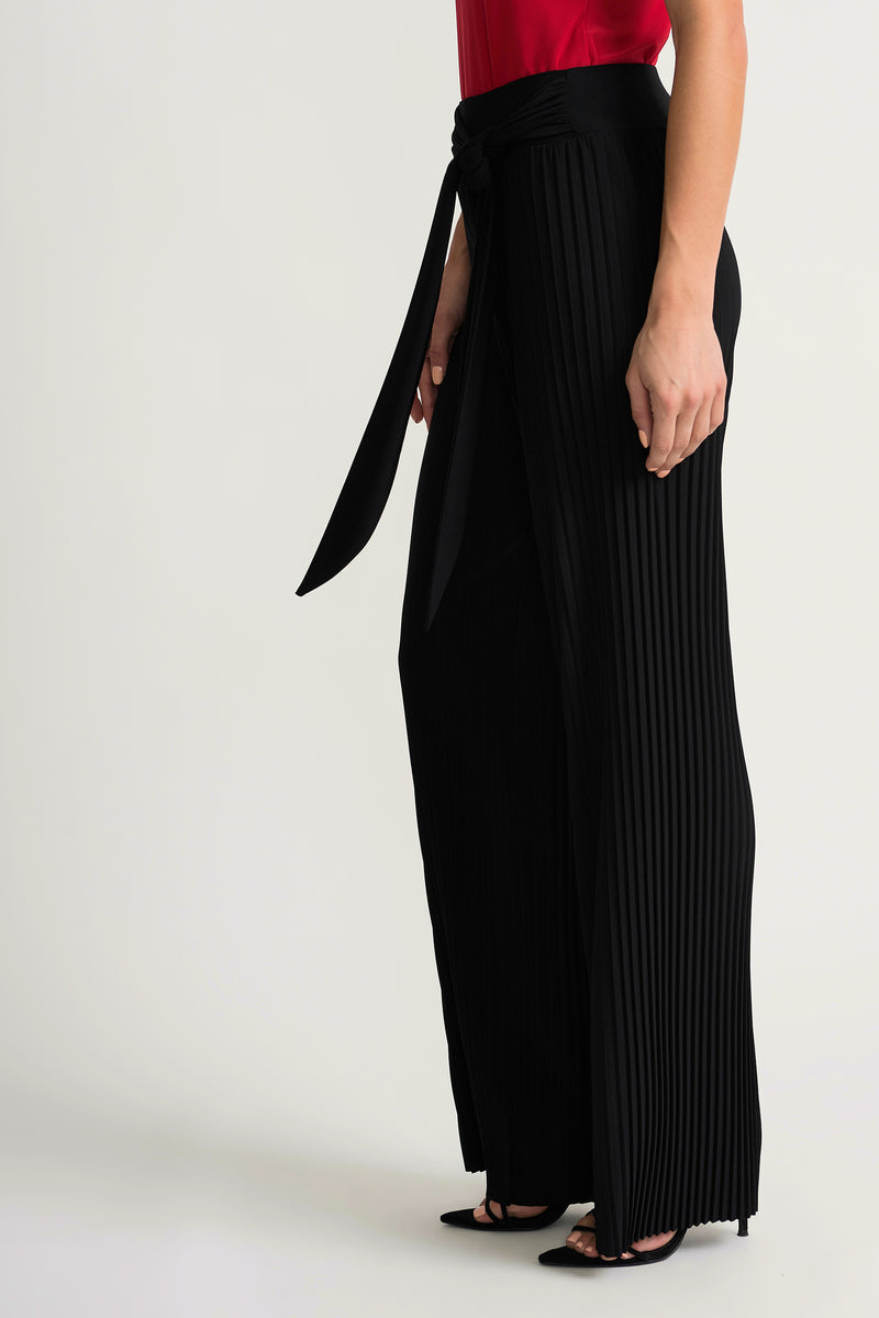Joseph Ribkoff - Black Pleated Pants