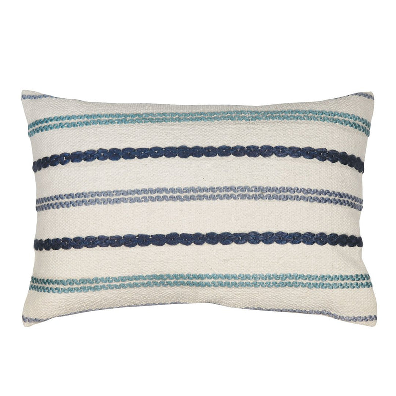Madras Link - Nelson Blue/Green Cushion