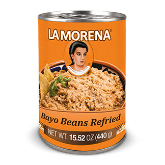 Refried Bayo Beans by La Morena