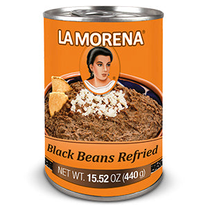 Refried Black Beans by La Morena