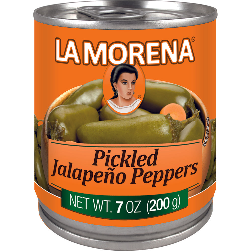 Canned Whole Pickled Jalapeño Pepperss