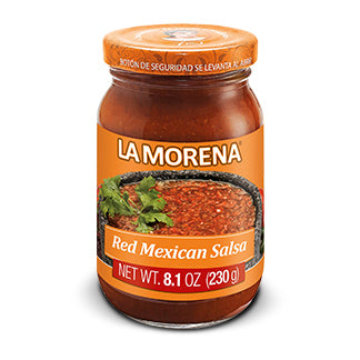 Red Mexican Salsa by La Morena