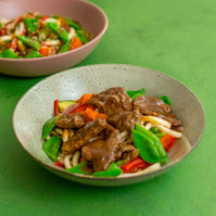 Beef Teriyaki Udon Noodles - Fresh Meals 2 U