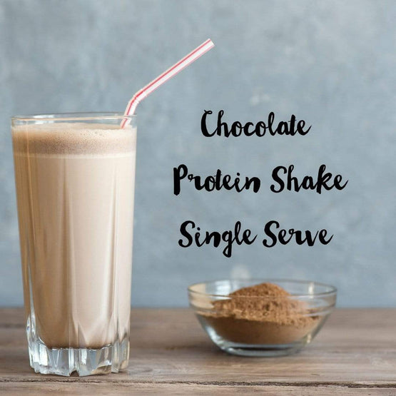 Chocolate Single Serve Whey protein powder - Fresh Meals 2 U