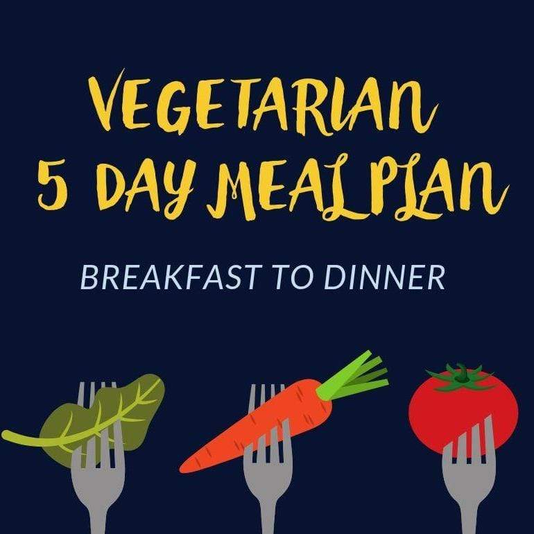 Fresh Meals 2 U Meal Plan 5 Day Vegetarian Meal Plan