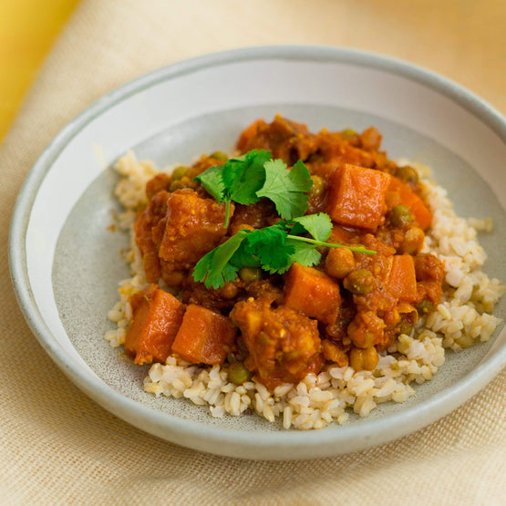 Fresh Meals 2 U Vegetarian Menu Vegetable Tagine with Brown Rice (V)