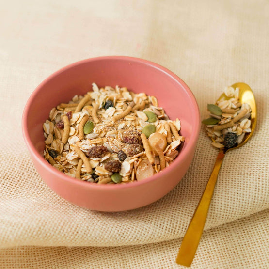 Natural Macadamia Muesli With Cranberry and Almonds