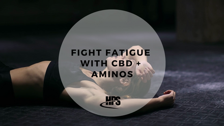Fight Fatigue With CBD-Infused Aminos