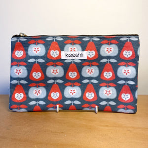 Up The Apples & Pears Zipper Pouch