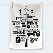 Load image into Gallery viewer, Best of Bayside Tea Towel