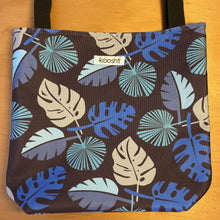 Load image into Gallery viewer, Blue Frond Tote Bag