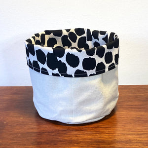Dahhhhling Fabric Planter/Storage Basket