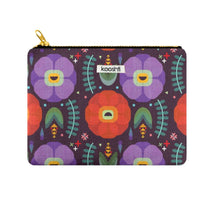Load image into Gallery viewer, Flowerfully Folk Zipper Pouch