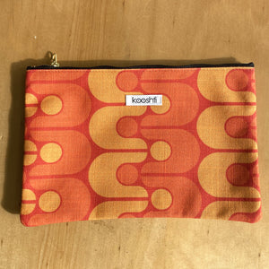 Golden Oldie Zipper Pouch