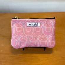 Load image into Gallery viewer, MCM Tulip Pink Zipper Pouch