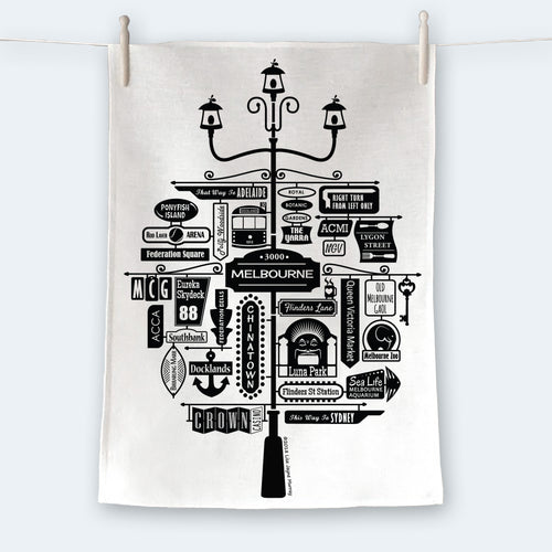 Best of Melbourne Tea Towel