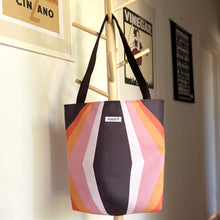 Load image into Gallery viewer, Retro Cubed Tote Bag