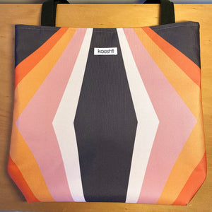 Retro Cubed Tote Bag
