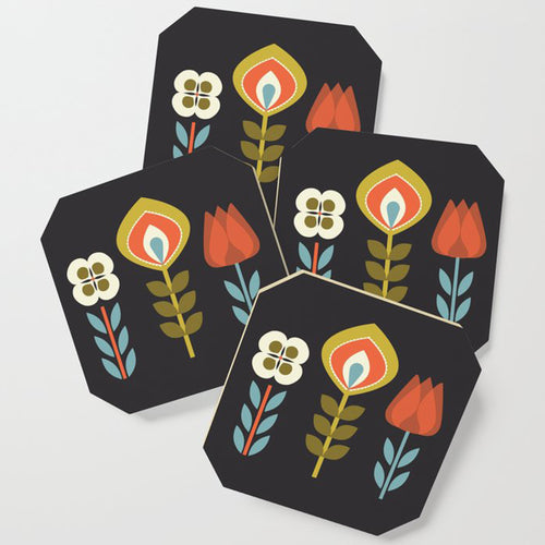 Rudy Set of 4 Drink Coasters
