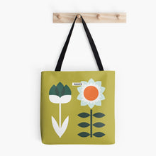 Load image into Gallery viewer, Set Sun Olive Tote Bag