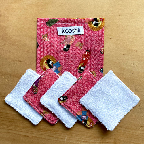 Shojo Reusable Face Wipes